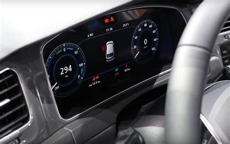 New Golf Interior by New Golf Interior For 2017 Revealed By E Golf Touch