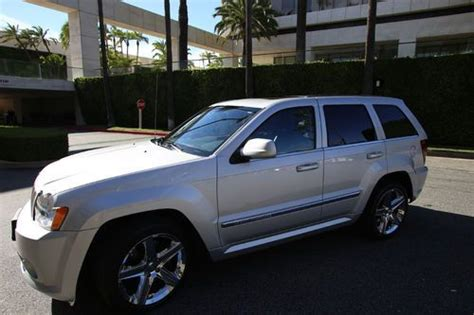 jeep srt8 for sale los angeles sell used 2007 jeep grand srt8 sport utility 4