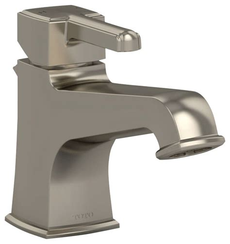 toto connelly single handle lavatory faucet brushed
