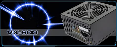 Psu Aerocool 600w Vx 600 Most Valued Power Original aerocool 600w vx 600 power supply atx 12v v2 3 120mm fan high end secc with black