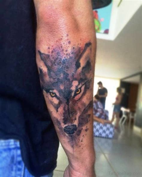 tattoo back of arm 80 superb alpha wolf tattoos for men