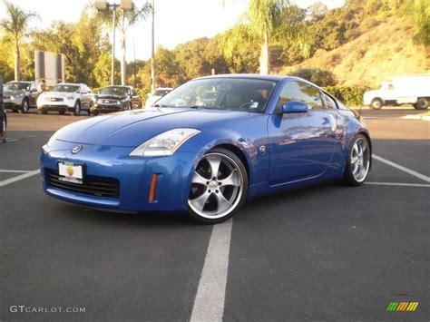 blue nissan 350z 2003 daytona blue nissan 350z enthusiast coupe 1016911