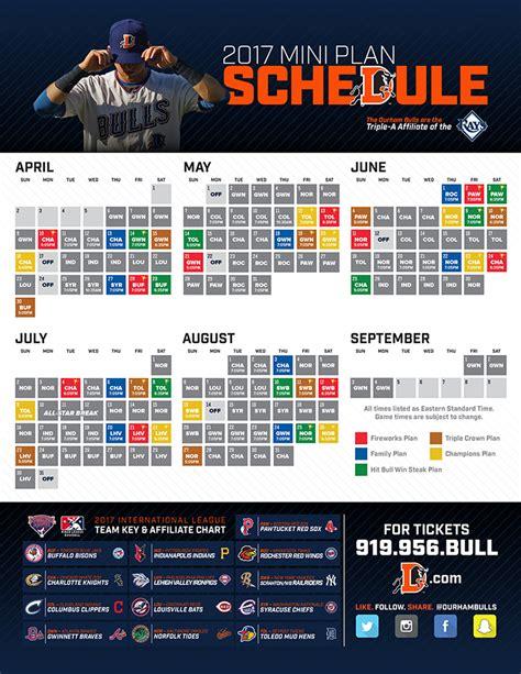 Bulls Giveaway Schedule - mini plans durham bulls tickets