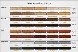 hair color palette hair color palette sergio ramos