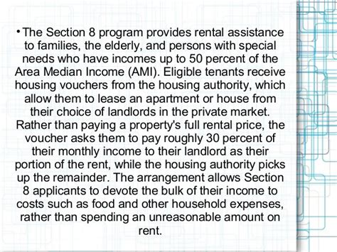 section 8 assistance section 8 housing assistance voucher program download pdf