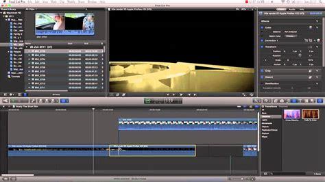 final cut pro basic tutorial final cut pro x basics tutorial pt 11 blade tool
