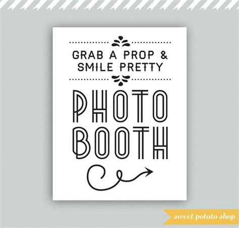 best photos of printable photo booth sign free printable