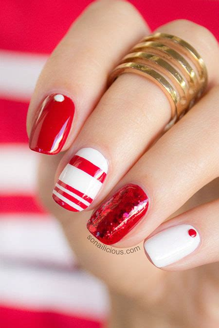 easy nail art red 12 simple red nail art designs ideas trends stickers