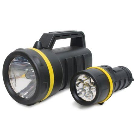 multi colored flashlight lumagear lg6led kry lantern and led flashlight combo pack
