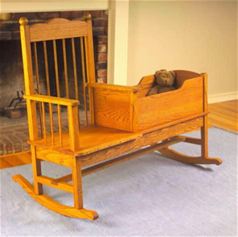 rocking bench plans benches rocker cradle wood plans