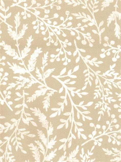 fern pattern neutral fabric for curtains rustic garden