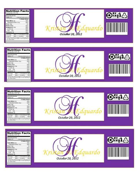 bottle label template monogramed water bottle labels opinions