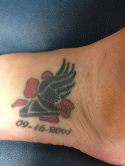 wyoming tattoos the on my foot for the 8 wyoming cross country