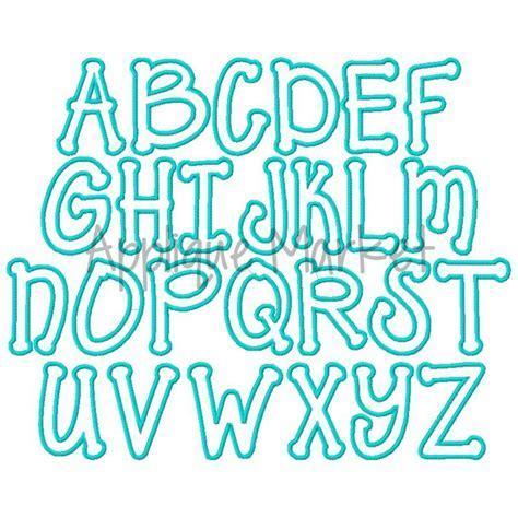applique alphabet templates applique alphabet
