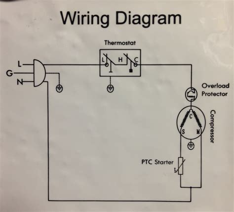 fridge compressor wiring diagram agnitum me