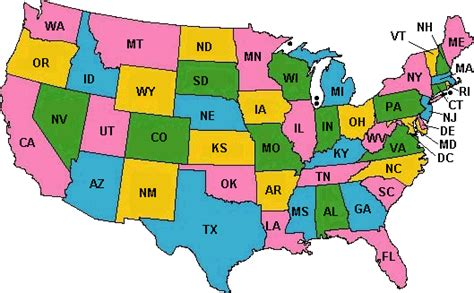 map of united states showing state boundaries map of us states and canadian provinces suffya buzz