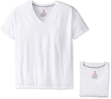 hanes comfort blend hanes men s 4 pack freshiq comfort blend v neck t shirt