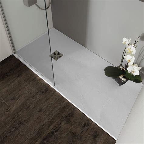 doccia resina flat piatto doccia spessore 2 5 in marmo resina cm 70x100