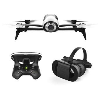 pack fpv drone parrot bebop  avec skycontroller   cockpitglasses drone photo video achat