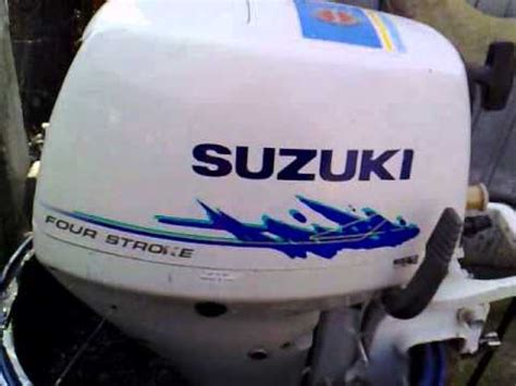 Suzuki 15hp 4 Stroke Suzuki 15 Hp Outboard Motor 1998r Four Stroke 4 Suw