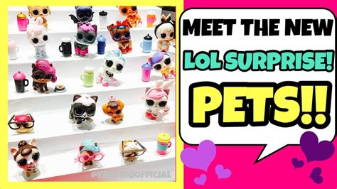 Sold Out Lol Pet Series Wave 2 1 new lol pets l o l series 3 who they are where to buy cats dogs hamsters