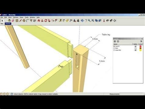 sketchup layout viewport skill builder how to lay out a woodworking project in