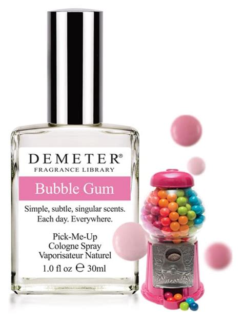 Parfum Gum gum demeter 174 fragrance library