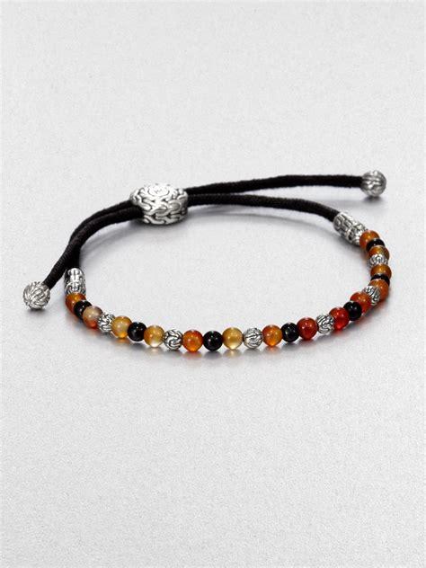 beaded cord bracelet hardy beaded cord bracelet lyst