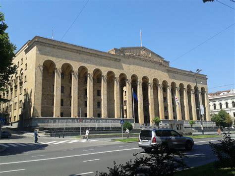 File:Tbilisi, Georgia ? Old Georgian Parliament building