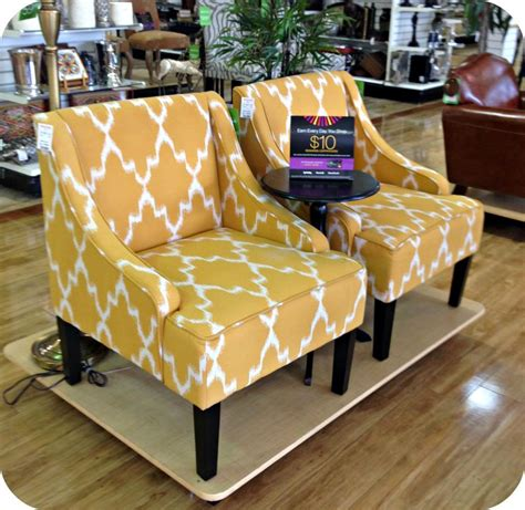 marshalls home goods furniture wingback chair tj maxx
