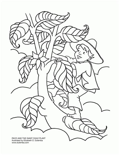 coloring pages for jack and the beanstalk jack and the beanstalk coloring page coloring home