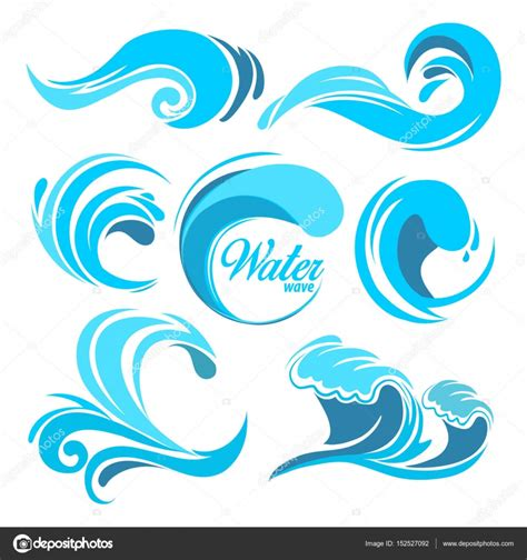 best photos of wave symbol vector graphics water splashes and waves vector graphic symbols for