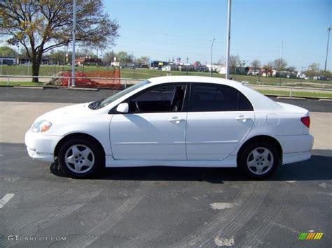 2004 white toyota corolla 2004 white toyota corolla s 27850256 gtcarlot