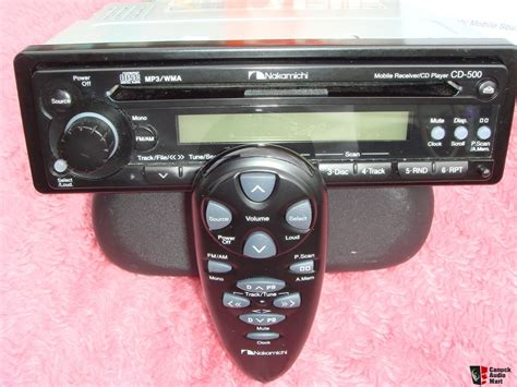 Nakamichi Cd 500 Headunit Sound Quality New Stock mobile receiver cd player nakamichi cd 500 photo 787517 canuck audio mart