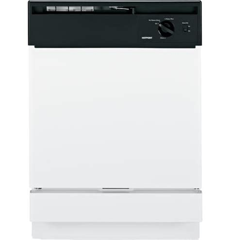 Hotpoint 174 Built In Dishwasher Hda1100nwh Ge Appliances