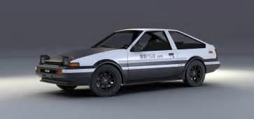 Toyota Sprinter Trueno Ae86 Toyota Sprinter Trueno Ae86 Initial D Edition By Mixjoe On