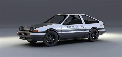 Toyota A86 Toyota Sprinter Trueno Ae86 Initial D Edition By Mixjoe On