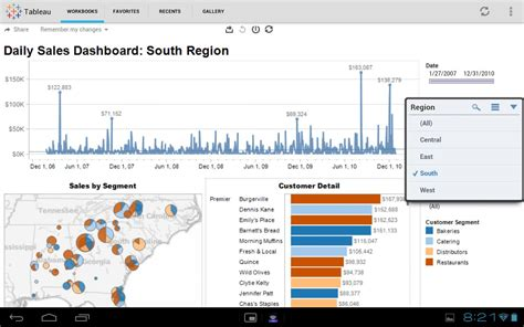 tableau tutorial with screenshots tableau mobile android apps on google play