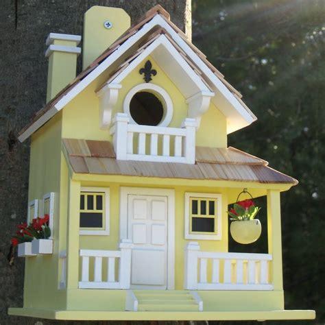 backyard bird shop locations shop home bazaar 8 in w x 11 in h x 9 in d yellow bird