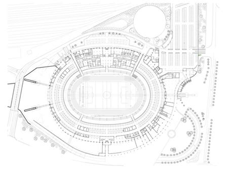stadium floor plan moses mabhida stadium south africa world cup 2010
