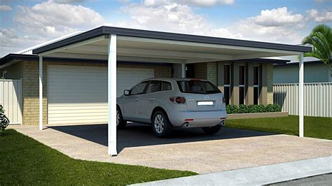 Car Port Design by Diy Carport Range Flat Attached Insular Patios Amp Fencing