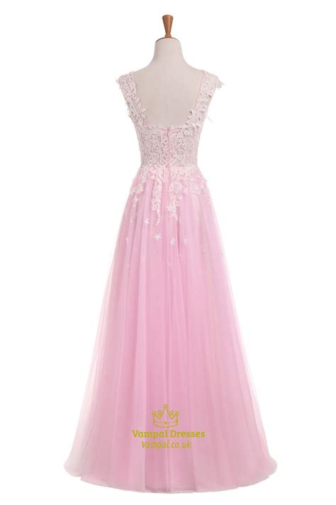 light pink sleeve dress light pink capped sleeve floor length wedding dress with