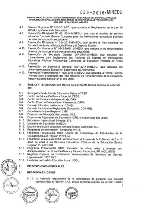 resolucion ministerial n199 2015 minedu resoluci 243 n de secretaria general 026 2016