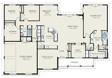 4 bedroom 2 1 bath house plans story 4 bedroom 3 5