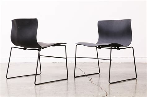 Vintage Knoll Chairs by Vintage Vignelli Design Handkerchief Chairs For Knoll