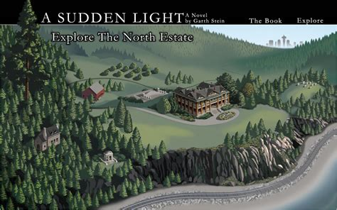 A Sudden Light A Novel a sudden light garth stein official website