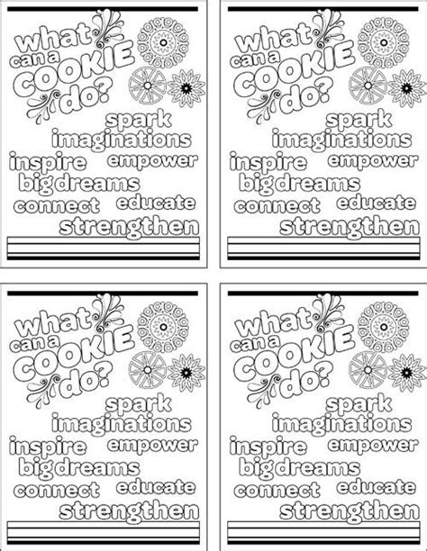 scout cookie coloring pages discover and save creative ideas