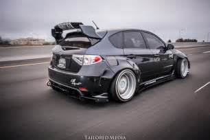 subaru wrx widebody mnt rider design hatchback wide body kit subaru wrx 2011