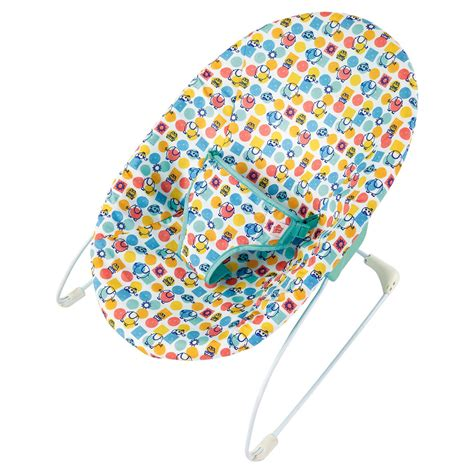 Bright Starts Patchwork Zoo Baby Bouncer - home and garden gt baby and toddler bright starts