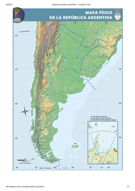 mapoteca la biblioteca de mapas de educ ar mapa para imprimir de la rep 250 blica argentina mapa